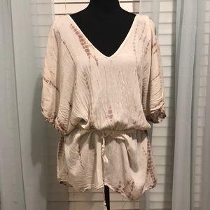 En Creme blouse